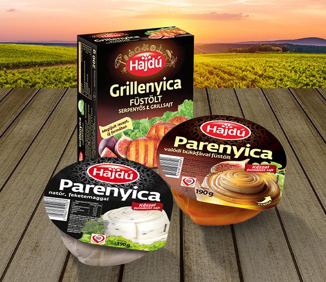 Hajdú Parenyica sajtok