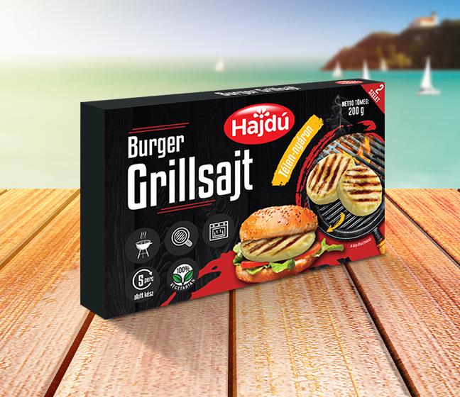 Hajdú Burger Grillsajt