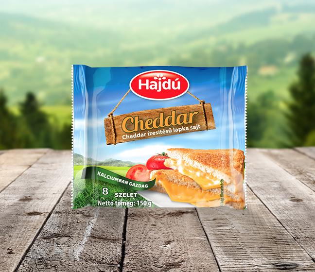 Hajdú Lapkasajt - Cheddar