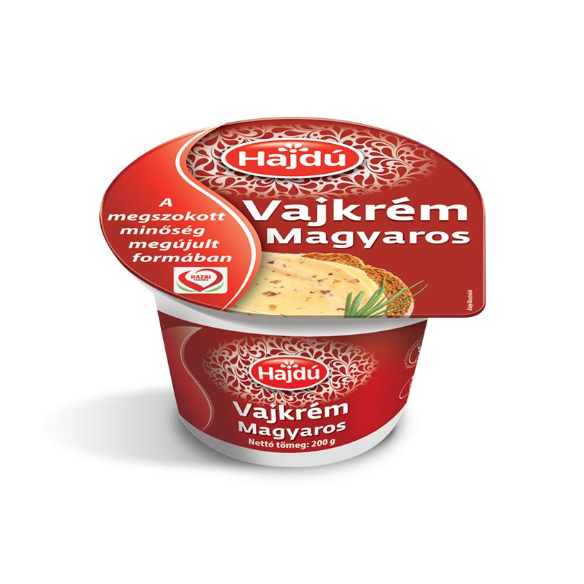 Hajdú Vajkrém - Magyaros ízesítésben